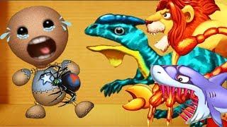 All Animal Horror vs BIO BUDDY | Kick The Buddy GamePlay Android IOS
