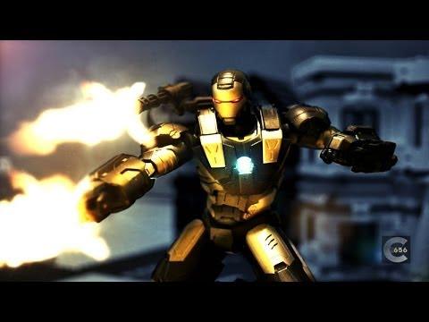 SHF War Machine stop motion review SHF 鋼鐵人戰爭機器玩具介紹