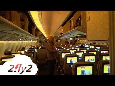 EMIRATES BOEING 777-300ER DUBAI-MILAN ECONOMY CLASS HD