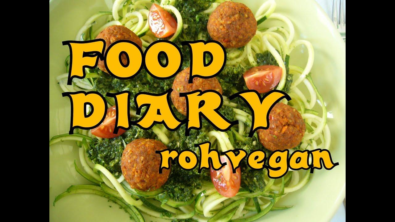 Food Diary 10 - meine rohvegane Ernährung für eine Woche
