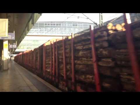 Deutsche Bahn - Transport von Holz