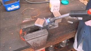 Metal brazing with copper electrical wire as filler