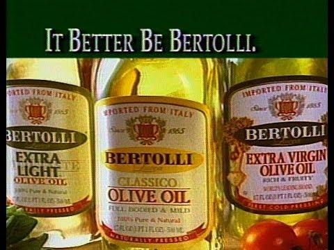 Bertolli Olive Oil - It Better Be Bertolli