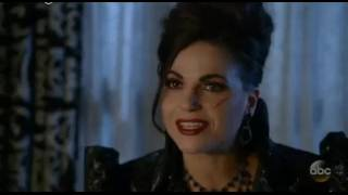 "Once Upon a Time 6x10 ""Regina Ask Wish From Aladdin(Jini) and Evil Queen Sees"" Scene"