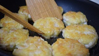Мясо с сыром на сковороде Готовим домашний шницель