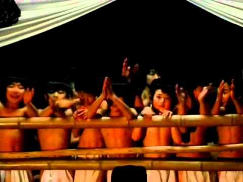 法界寺の子供の裸踊り(2012.1.14)