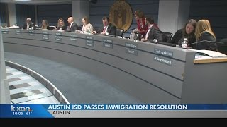 Austin ISD board passes resolution supporting immigrant students