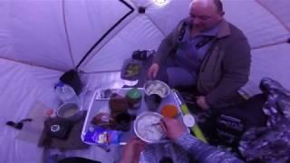 Сутки на зимней рыбалке 2020!! (Рыбалка в Зубово, Московская область)