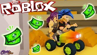 WE ROB THE BANK IN QUAD JAILBREAK ROBLOX ? CRYSTALSIMS