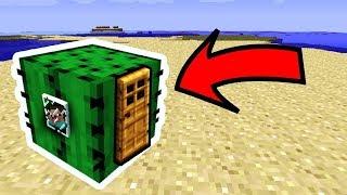 НУБ НАШЕЛ ДОМ ВНУТРИ КАКТУСА В Майнкрафте! Minecraft Мультики Майнкрафт троллинг Нуб и Про