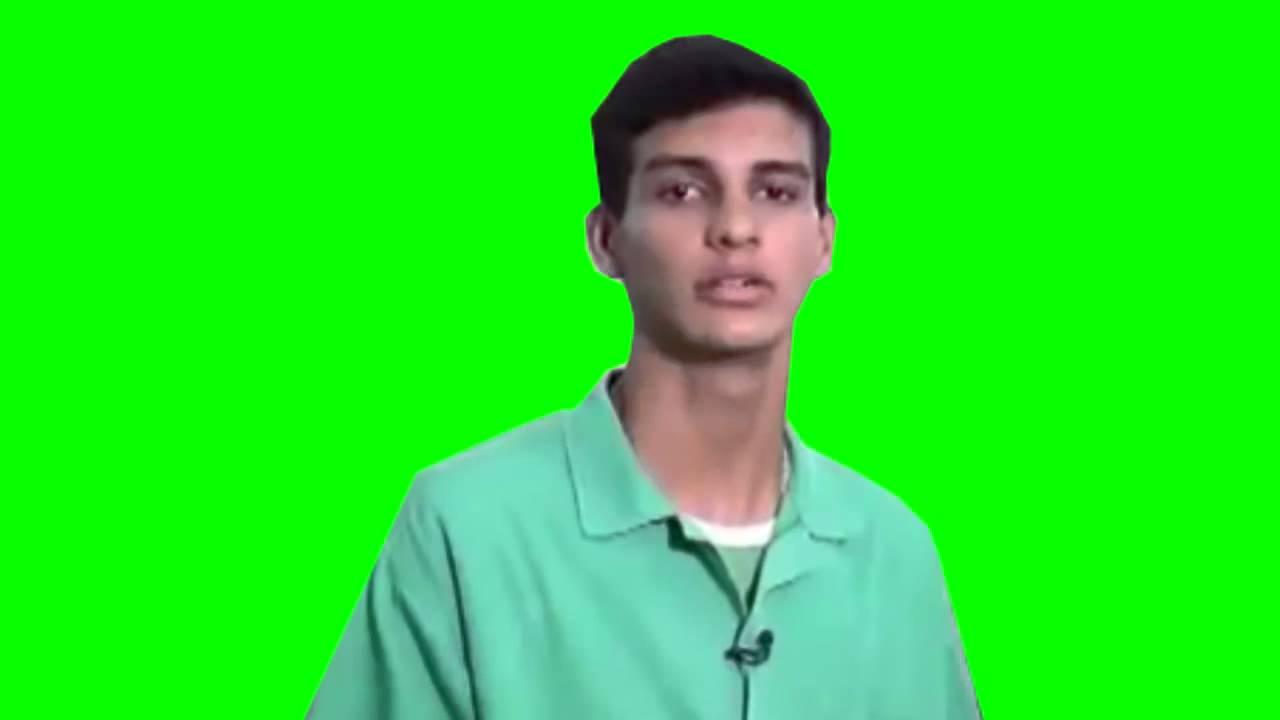 Eu Tambem Tela Verde Meme Youtube