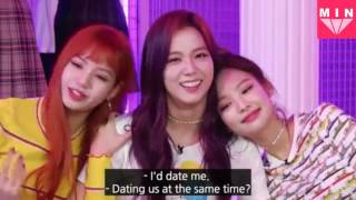 Video 【ENG SUB】Who would BLACKPINK date if they were guys? download MP3, 3GP, MP4, WEBM, AVI, FLV Oktober 2017