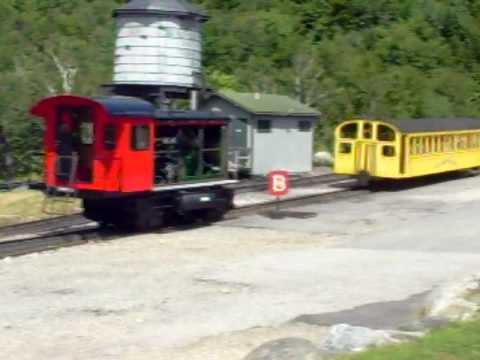 Mt. Washington Cog Rail Way (Diesel Engine) - Part #1
