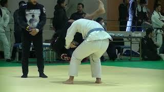 福住柔術 あきらくん(アダルト青帯ミドル級)決勝戦 vs Lucas Sassaqui...