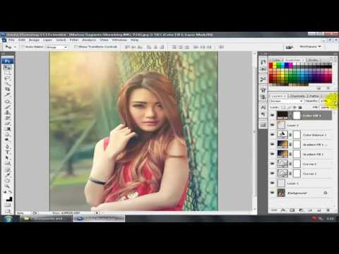 Blend and Retouch Soft Light - Latest Photoshop Tutorial