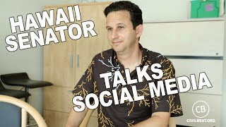 Hawaii Senator Brian Schatz On Social Media