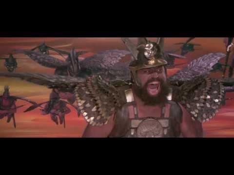 Flash Gordon 1980  Hawk Men... DIVE!!!  HD