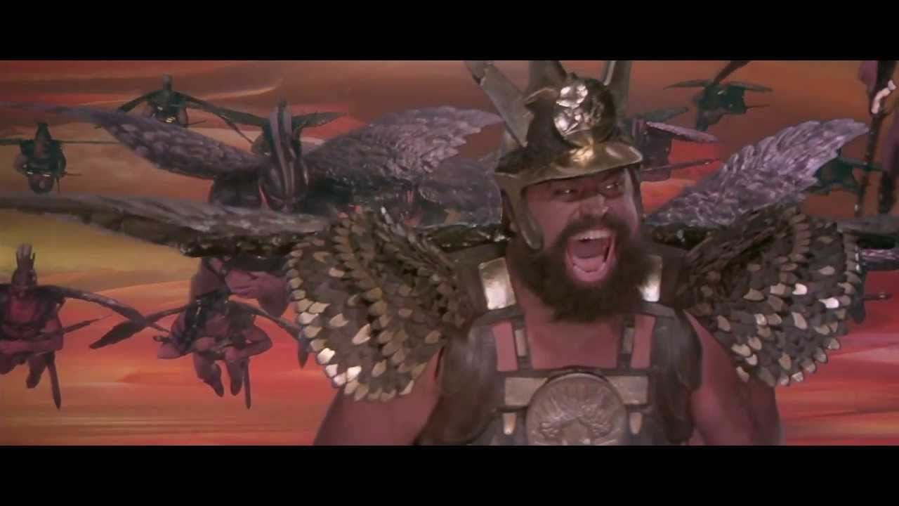 Flash Gordon (1980) - Hawk Men... DIVE!!! (HD) - YouTube