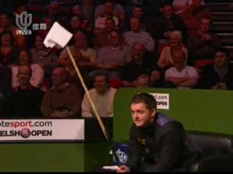 Ronnie O`Sullivan ( Funny concession by Mark Allen )