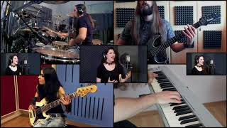 Evanescence - The Other Side | Full Band Collaboration Cover | Panos Geo