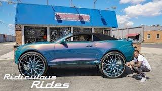 Custom Camaro With Insane 32-Inch Wheels   RIDICULOUS RIDES