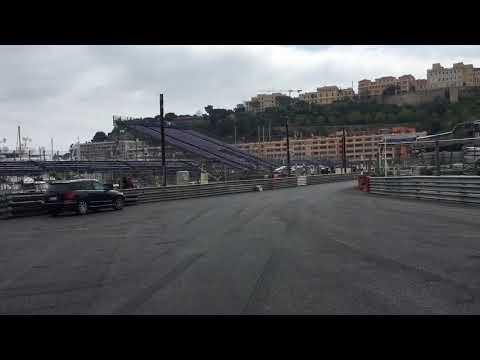 Formula 1 track 2018 - MONACO