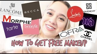 HOW TO GET FREE MAKEUP SENT TO YOU!