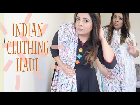 INDIAN CLOTHING & ACCESSORIES HAUL | PAKISTANI MOM BUYS INDIAN CLOTHES | BISMA NOOR