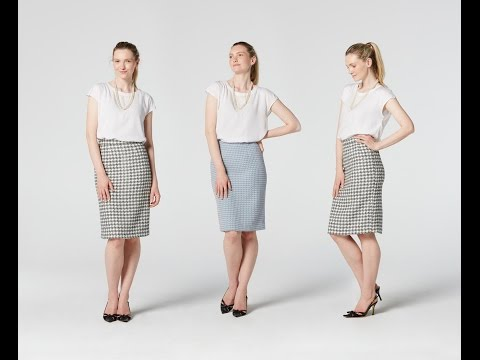 How to Make a Pencil Skirt | Teach Me Fashion