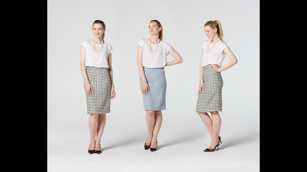b04101a397 How to Make a Pencil Skirt | Teach Me Fashion - YouTube