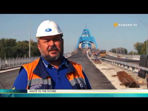 Route to the future. New silk way  №19 (16.12.2016) - Kazakh TV