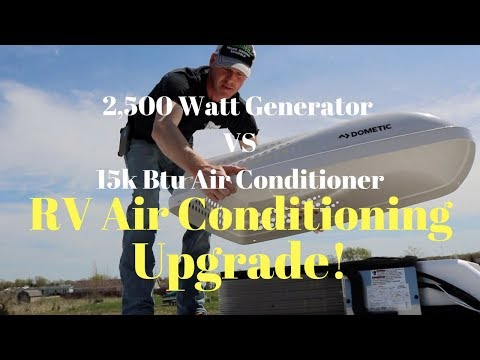 HOW TO REPLACE RV AC DOMETIC PENGUIN II DUO THERM HEAT PUMP