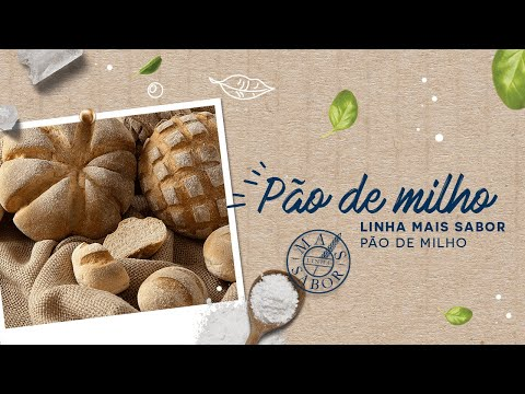 Pão de Milho — Linha Mais Sabor Pão de Milho