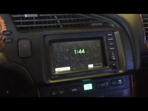 How to fix your Honda and Acura Navigation clock stuck at 0:00
