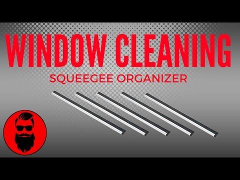 Squeegee Organizer