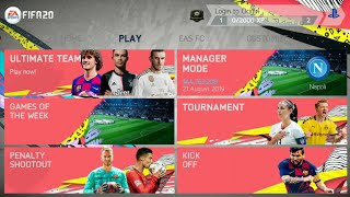 [498 MB] FIFA 20 Mod FIFA 14 Android Offline New Faces, Transfer Best Graphic #fifa19android