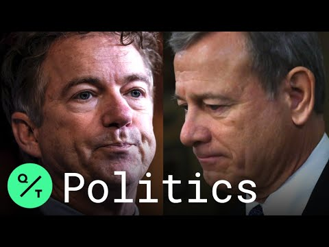 Rand Paul reads alleged whistleblower's name and Republicans ...