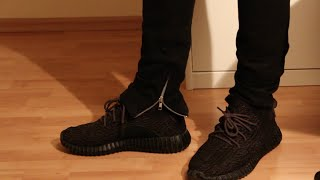 Fear of God Zipper Pant Alternative/H&m oversized sweater/Yeezy350boost