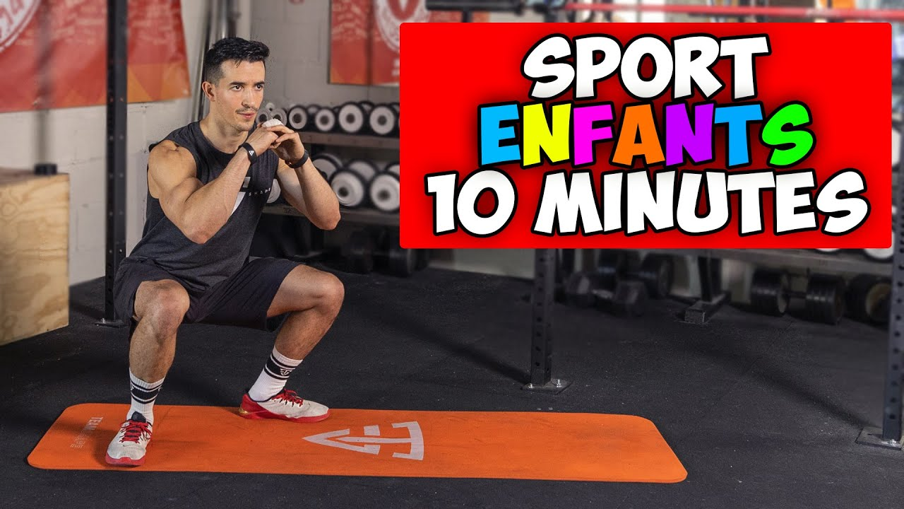 Sport pour Enfant à la maison 10 minutes !