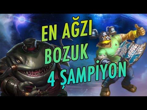 Ağzı En Bozuk 4 League of Legends Şampiyonu