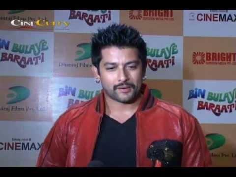 Aftab Shivdasani, Abhishek Bachchan In Bin Bulaye Baraati Premiere
