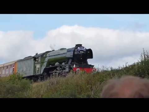 Flying Scotsman Steam Train - Severn Valley Railway - Pacific Power 2016