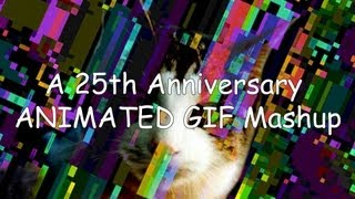 A 25th Anniversary GIF Mashup set to 8-bit Dubstep | Off Book …
