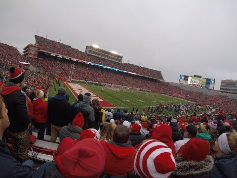 Going to the Wisconsin football game vs. Michagan!!