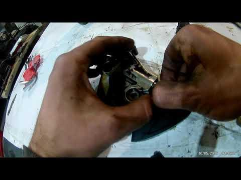Успакоитель  и натяжитель цепи масляного насоса двигатель ALT