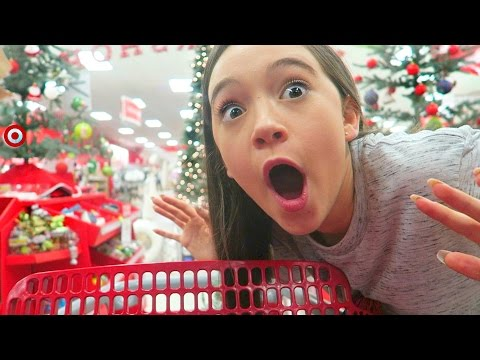 Shop With Me for HOLIDAY Room Decor At TARGET   Fiona Frills