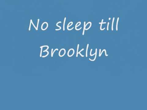 Beastie boysno sleep till Brooklyn lyrics