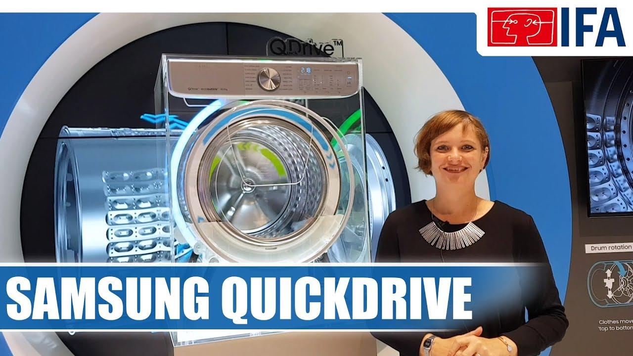 Samsung Ww8800M Quick Drive Waschmaschine #Ifa2017 - Youtube