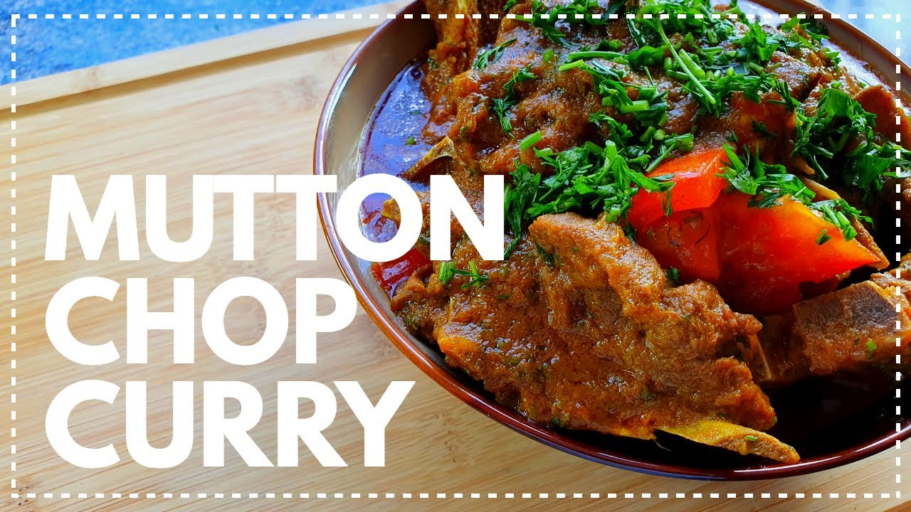 Mutton Chop Curry | How To Cook A Bengali Style Chop Curry