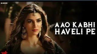 "Aao Kabhi Haveli Pe ""Full VIDEO - Kriti Sanon | Badshah | STREE | Rajkummar Rao, Shraddha Kapoor"